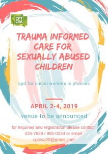 Trauma Informed Care for Sexually Abused Children